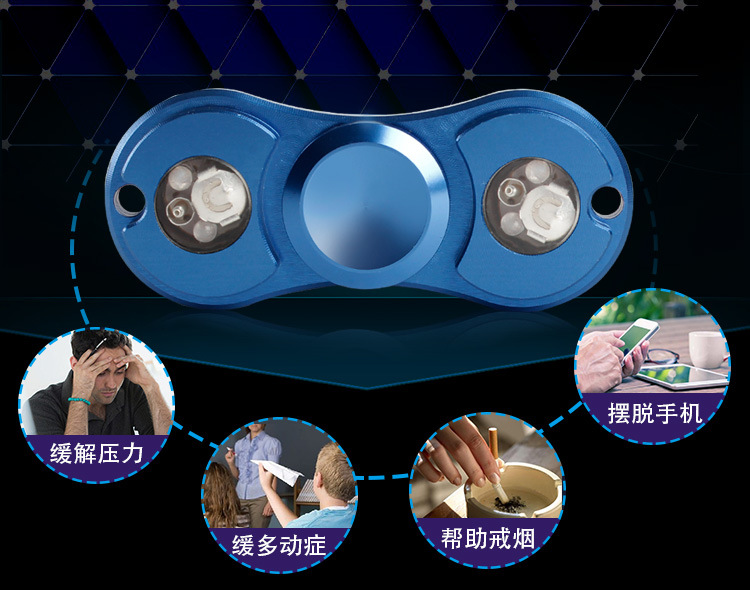 Stress reducer Hand spinner Best price wholesale high quality LED hand spinner
