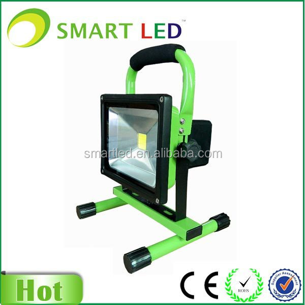 IP65 battery powered 20w rechargeable led magnetic work light