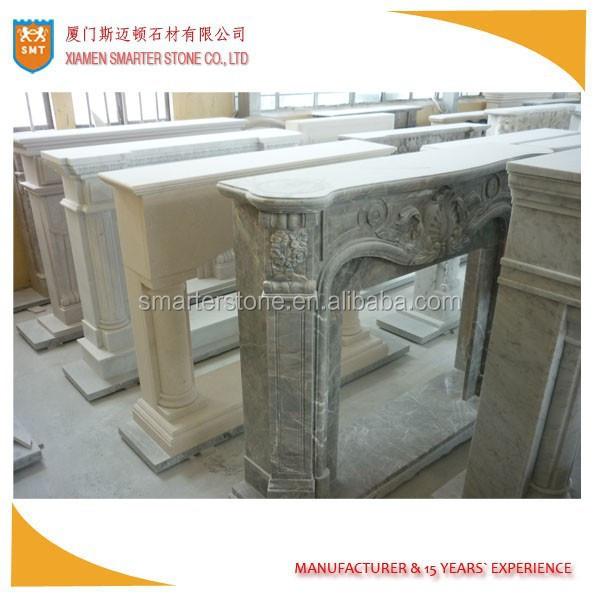 Chimenea chimenea marmol chimenea repisa de la chimenea - Repisas de marmol ...