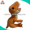 Cheap custom dinosaur hand puppet plush manufacture wholesale