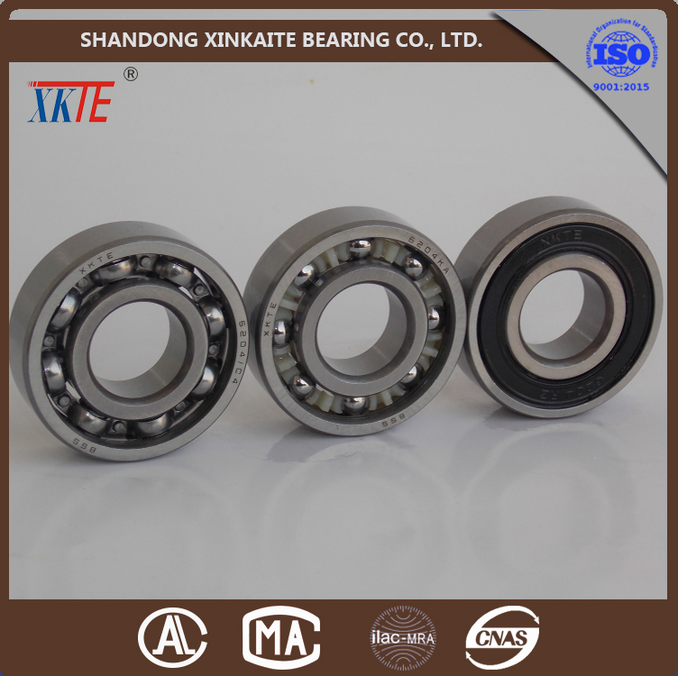 shandong china manufacture well sales 6204-2RS deep groove ball bearing for conveyor bearing