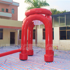 Good design inflatable Sports Game stand basketball Frame Simple Frame Model