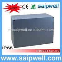 2014 High quality IP65 aluminum enclosure 340*235*160MM(aluminum box serirs) WITH CE Approval