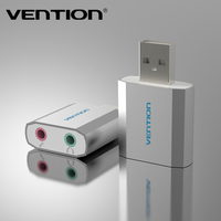 Vention New Model External USB Virtual 5.1 Channel Sound Card For PC