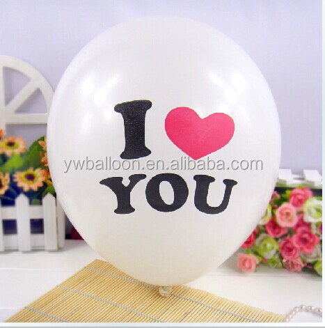 party balloon for wedding decoration