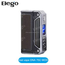 2017 Hot Stock Lost Vape Therion DNA75 Box Mod With Original Evolv DNA Chip Therion DNA 75