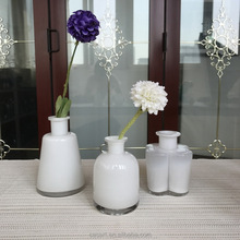 Casart Wholesale best selling white murano glass flower vase