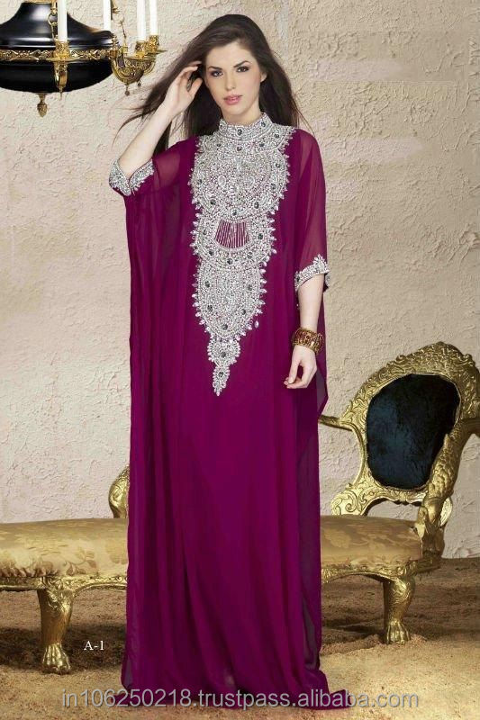 Abaya designs with stone 2012