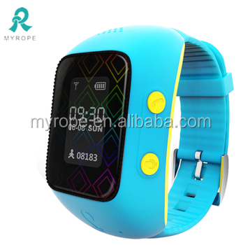 Wrist kids children anti-kidnapping gps watch / Children Smart GPS phone watch / gps watch phone R12