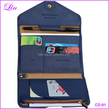 Free Shipping by DHL/FEDEX/SF Multifunctional Women Passport Cover Travel Storage Long <strong>Wallet</strong>
