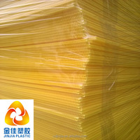 polypropylene corrugated sheets plastic flute board