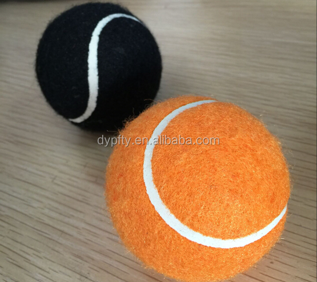 good quality 63.5mm custom personalized cheap pet tennis ball toy