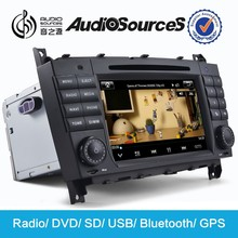 Gps navigation for C-class auto in car dvd player with radio BT ISDB DVB-T DVR VMCD