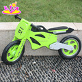 new hot sale children wooden bike,popular wooden balance bike for kids W16C069