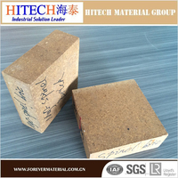 qualified manufacturer zibo hitech magnesia spinel brick with tough texture and high quality of compression resistance
