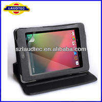 Factory wholesale for google nexus 7 360 degree rotating case with Stand