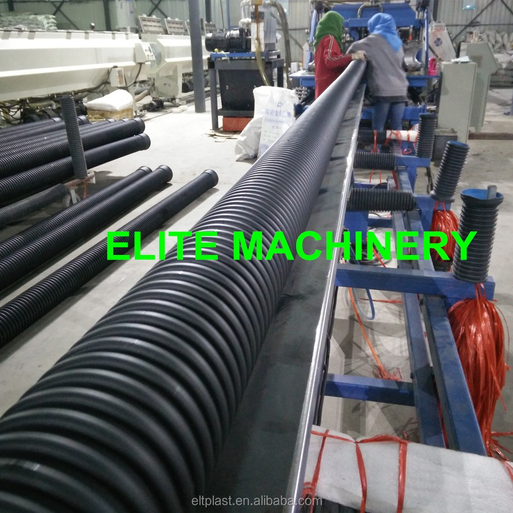 HDPE/PP Double Wall Corrugated Pipe Extrusion Machine ESB-600