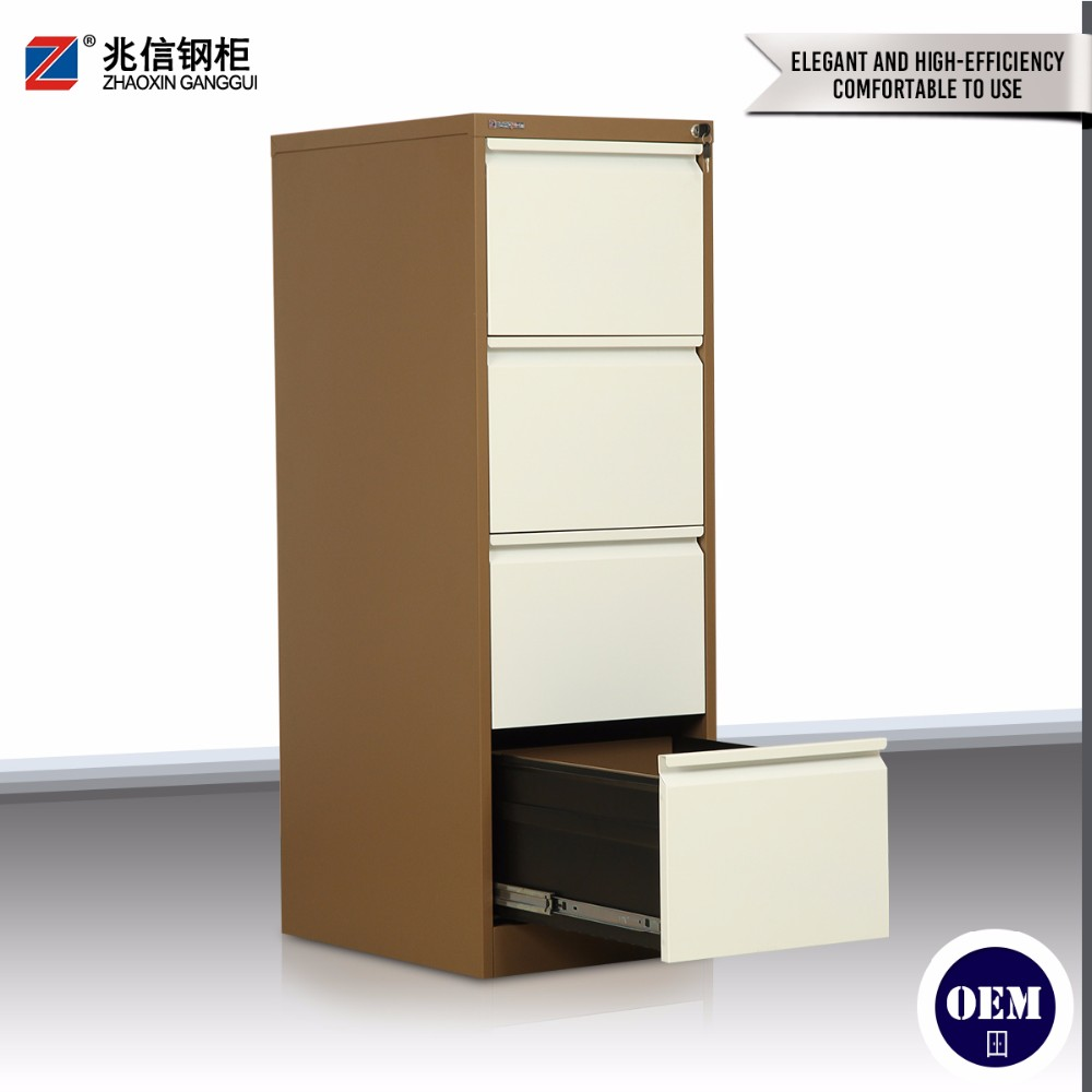 New design factory price colorful godrej 4 drawers steel filing cabinet