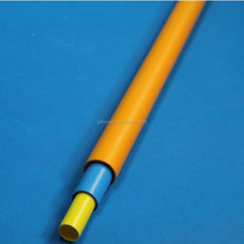 plastic pipe sizes colored round cable duct