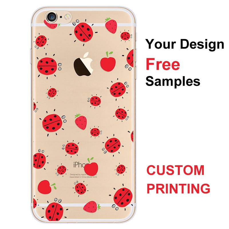 Mobile Accessories Cellphone Cover Sublimation Phone TPU Case For Iphon 7S