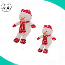 shenzhen factory snowman plush doll christmas plush elf doll for kids
