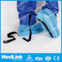 disposable pp shoe cover with anti-static used in electronic factory