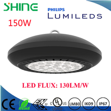 fast heat dissipation 10 years warranty explosion proof 150w ufo led high bay lighting