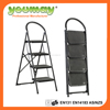 EN14183 Steel Folding step Ladder SF0504A/outdoor iron stairs/fold step stool