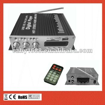 FM radio car amplifier