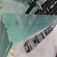 ultra clear 10.38mm laminated glass