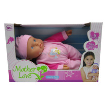 6 sounds soft body kids toy doll