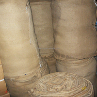 Hot Sale High Quality large heavy cees duty jute hessian gunny sack bag for agriculture