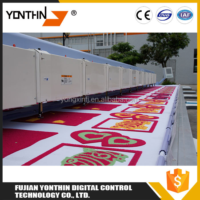 Decorative Needlework YXL500 High Speed Chain Stitch Computer Controlled Embroidery Machine Price