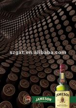 popular and hot sale wine el advertisement for promotion with charming animation and lights