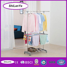 multi-function folding stand clothes hanger rack