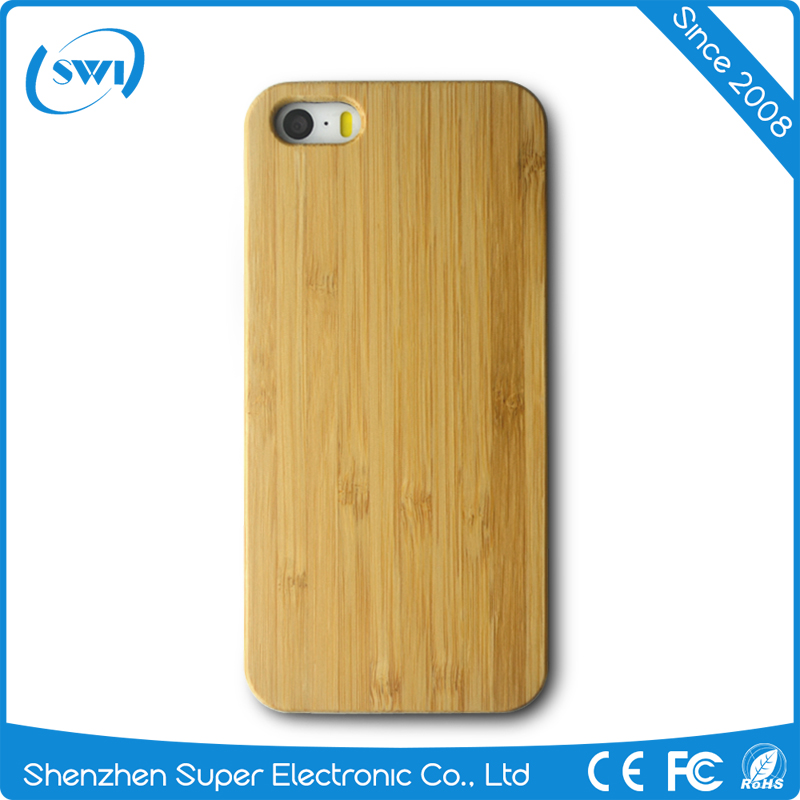 2017 Trend new products original bamboo case for iphone 5 5S 5C,custom logo real bamboo case for iphone 5 5S 5C
