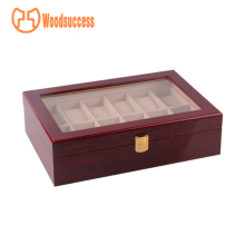 Custom-made 12 slot watch boxes