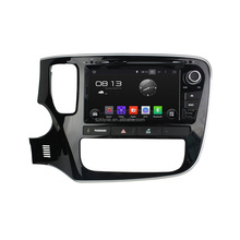 Double din Android 4.4.4 Rockchip A9 quad-core 1024*600 Car Dvd with GPS+IPOD+BT+Radio+AUX IN+DVR for OUTLANDER 2015