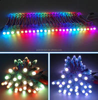 New Waterproof Addressable Programmable Full Color Changing Rgb 12mm Digital Led Pixel Point Light.