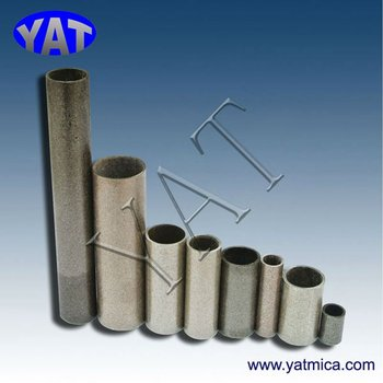 Insulating mica heat resistant pipe insulation