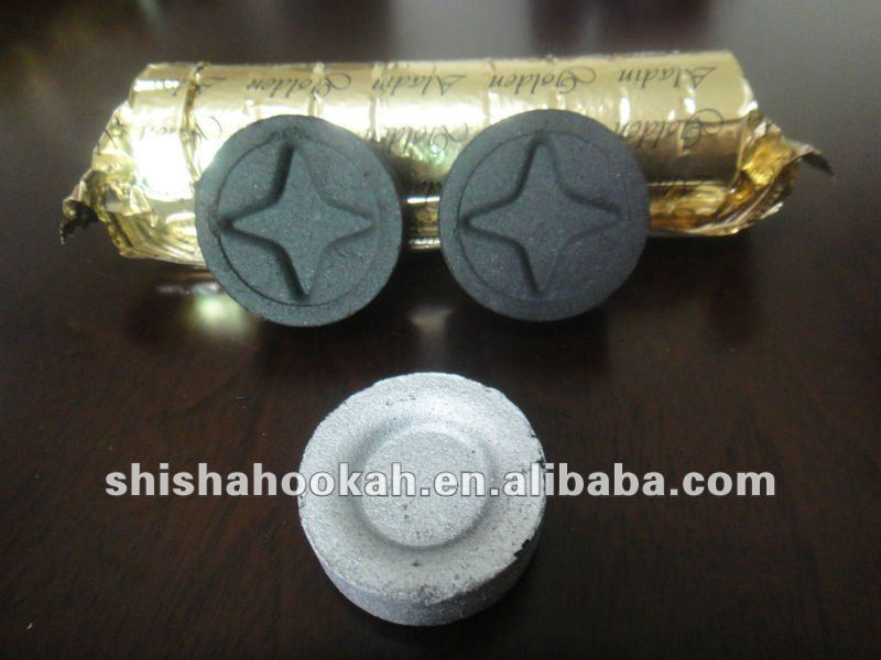 Arab smoking shisha charcoal (odorless, smokeless, health)