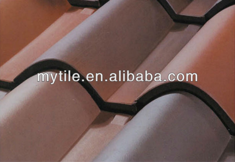 Portuguese Clay Roman Roof Tiles Made In China