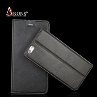 Premium stand leather phone case magnetic cell phone holder