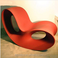 Modern Fiberglass Butterfly Voido Rocking Leisure Chair by Ron Arad