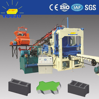 QT4-15C automatic split face block machine for sale