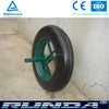 14 inch steel rim solid wheelbarrow tyre
