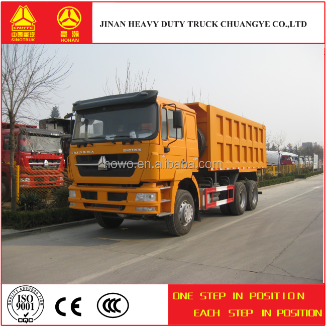 China Supplier HOHAN 3 Axles 10 Wheel 6x4 Dump Truck for Sale