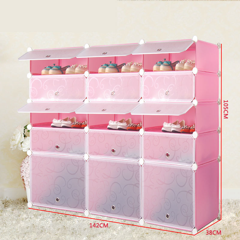24 Cubes Large Modern Plastic Living Room Furniture Cabinets For ...