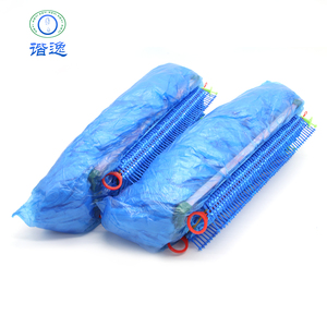Medical Disposable Shoes Cover ,PE Plastic Rain Overshoes