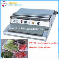 Food Tray Sealer-Hand Wrapping Machine